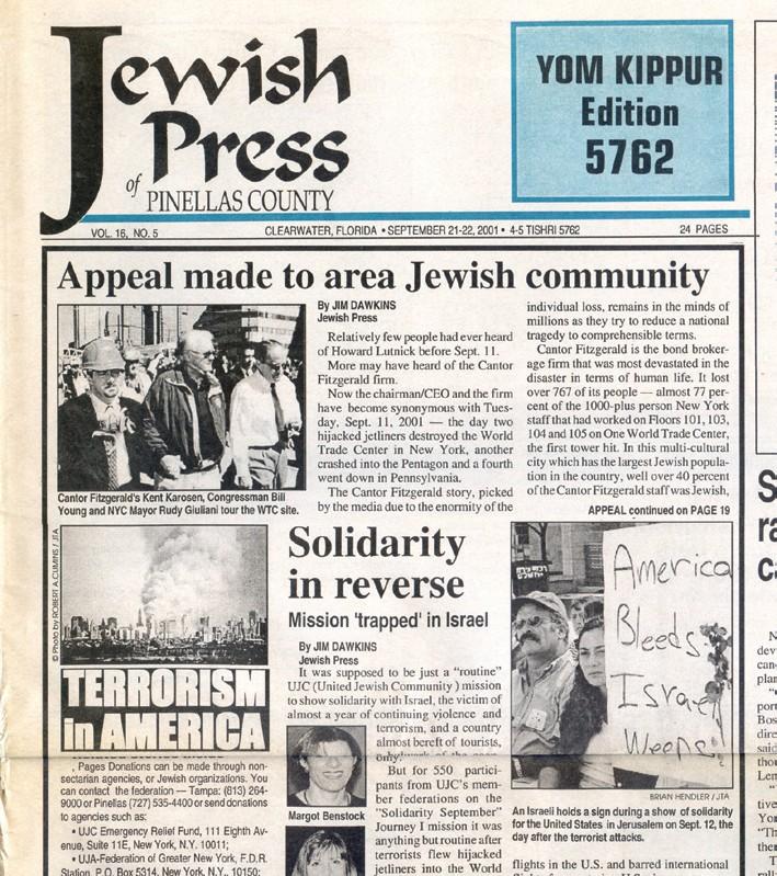 25 years of Jewish Press community highlights | Jewish Press of
