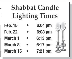 Shabbat Candle Lighting Times | Jewish Press of Pinellas County